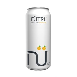 Nutrl Vodka Soda Pineapple 473ml