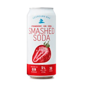 Georgian Bay Strawberry Smashed Soda 473ml