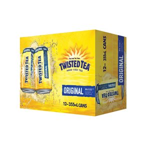 Twisted Tea Original Spirit Based 12 C