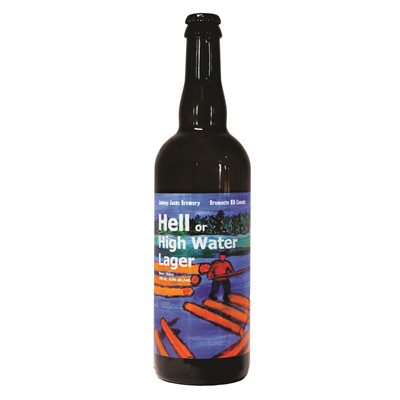 Johnny Jacks Hell Or High Water Lager 750ml