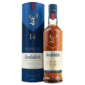 Glenfiddich Bourbon Barrel 14 YO 750ml