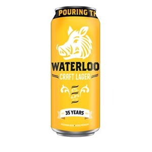 Waterloo Craft Lager 473ml