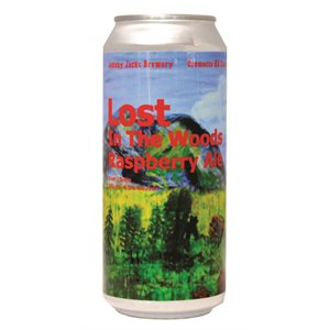 Johnny Jacks Lost In The Woods Raspberry Ale 473ml