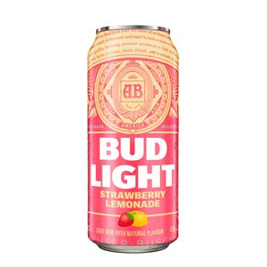 Bud Light Strawberry Lemonade 473ml