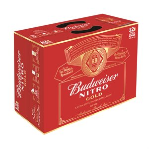 Budweiser Nitro Gold 12 C