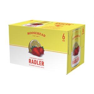 Moosehead Radler Strawberry Lemonade 6 C