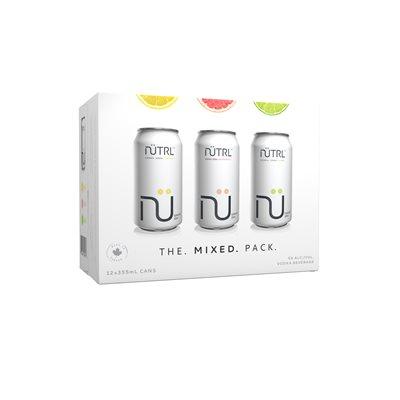 Nutrl Vodka Soda Mixed Pack 12 C