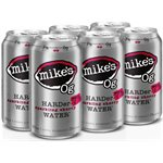 Mikes Hard 0G Sparkling Water Cherry 6 C