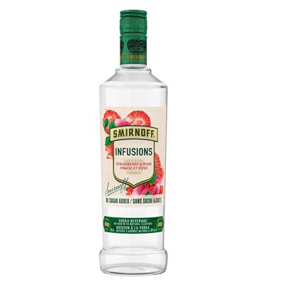 Smirnoff Infusions Strawberry & Rose 750ml