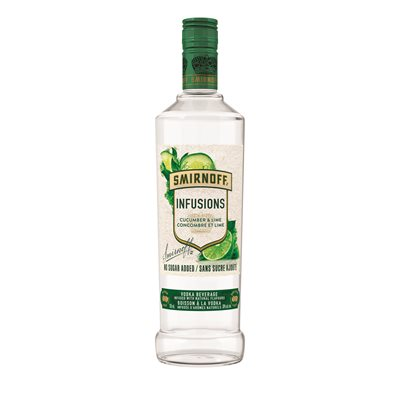 Smirnoff Infusions Cucumber & Lime 750ml