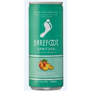 Barefoot Refresh Moscato Spritzer 250ml