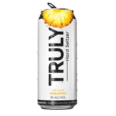 Truly Pineapple Hard Seltzer 473ml