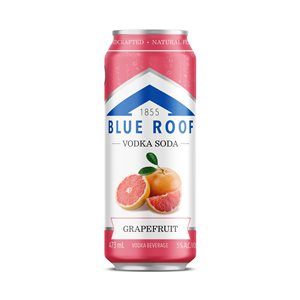 Blue Roof Vodka Soda Grapefruit 473ml