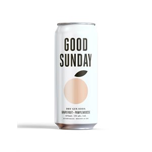 Good Sunday Dry Gin Soda Grapefruit 473ml