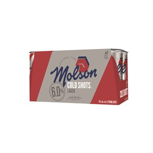 Molson Canadian Cold Shots 8 x 222ml