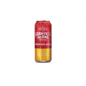 Granville Island Cranberry Orange Wheat Ale 473ml