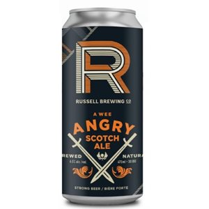Russell Brewing A Wee Angry Scotch Ale 473ml