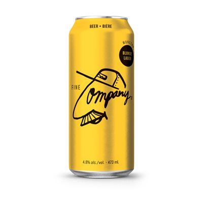 Fine Company Blonde Lager 473ml