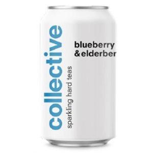 Collective Arts Blueberry & Elderflower Sparkling Tea 355ml