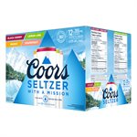 Coors Seltzer Variety Pack 12 C
