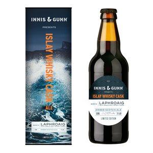 Innis & Gunn Islay Whisky Cask Laphroaig Edition 500ml