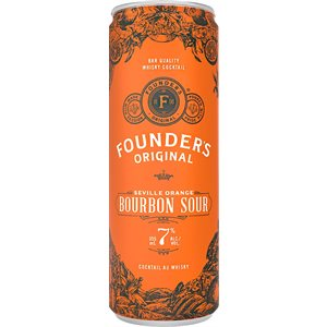 Founders Original Seville Orange Bourbon Sour 355ml