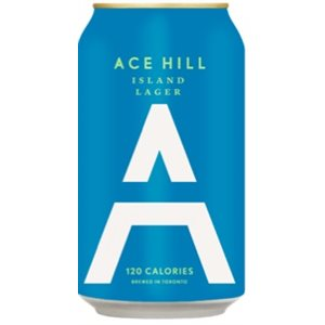 Ace Hill Island Lager 355ml