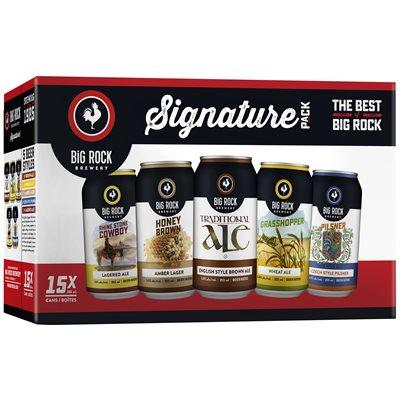 Big Rock Variety Pack 15 C