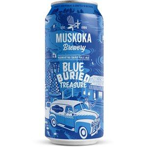Muskoka Blue Buried Treasure Lactose Pale Ale 473ml