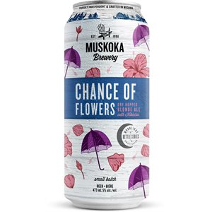 Muskoka Chance Of Flowers Blonde Ale 473ml