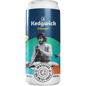Petit-Sault Kedgwick Pilsner 473ml