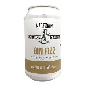Gagetown Distilling & Cidery Gin Fizz Cider 355ml