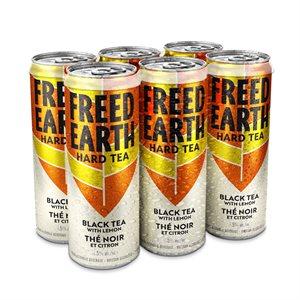 Freed Earth Black Tea With Lemon 6 C