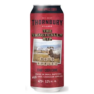Thornbury Craft X Tragically Hip Road Apples Dry Cider 473ml