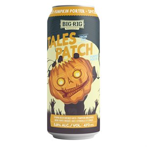Big Rig Tales From The Patch Pumpkin Porter 473ml
