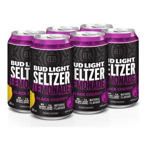 Bud Light Seltzer Lemonade Black Cherry 6 C