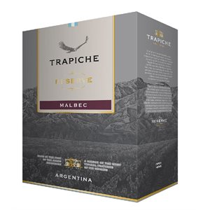 Trapiche Reserve Malbec 3000ml