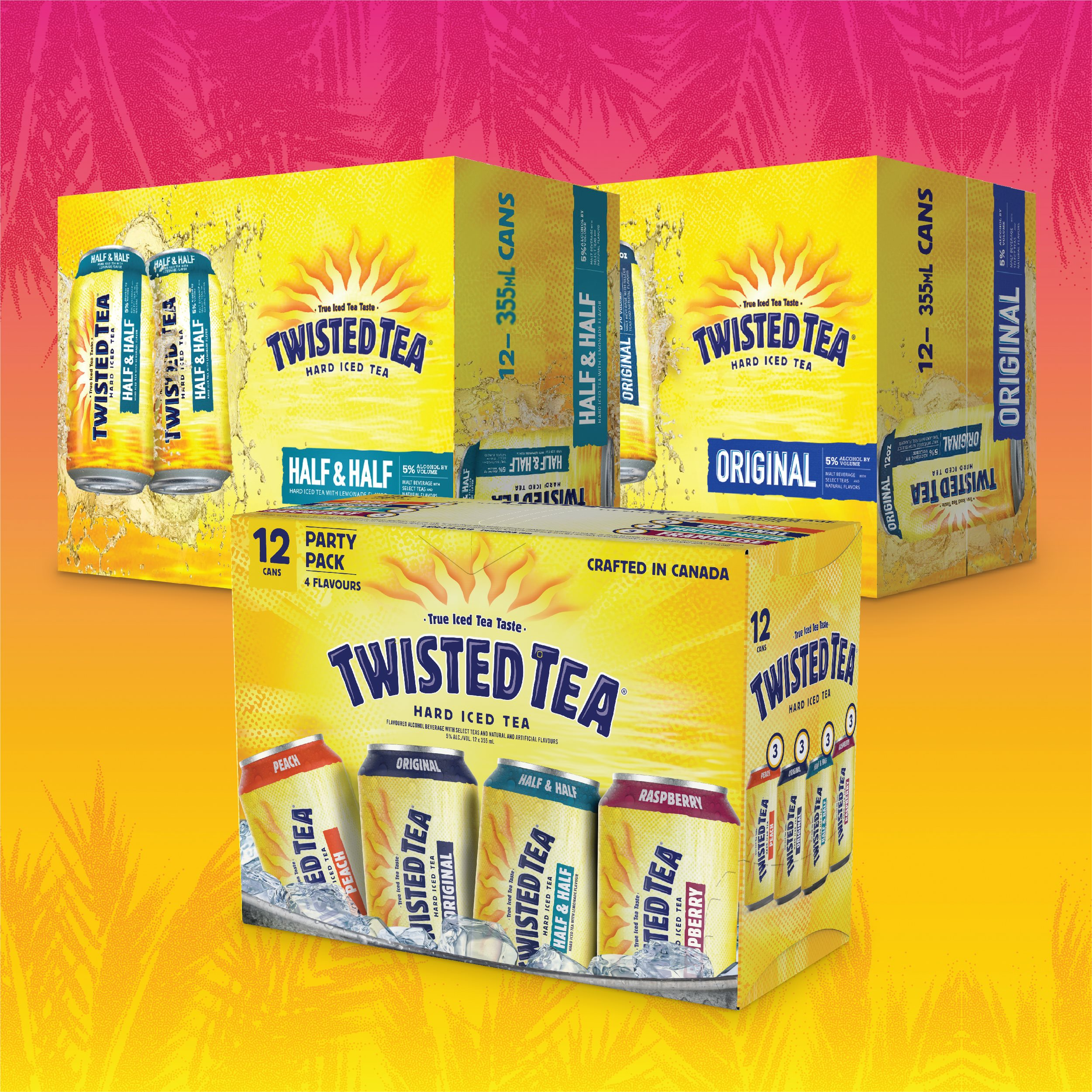 P4 Hot Deals Twisted Tea